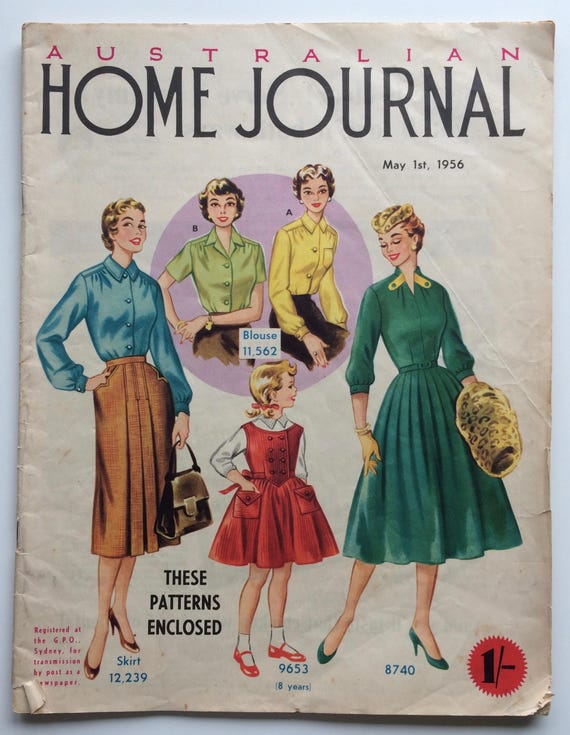 Vintage Australian Home Journal Magazine - May 1956 - Some Great ...