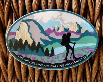 JMT Hiking Decal (4.5 inch)