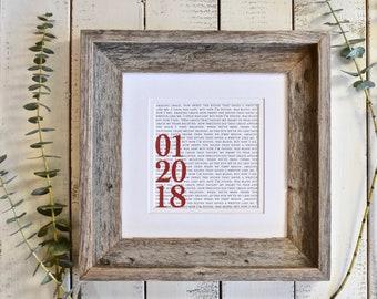 Wedding Gift | Wedding Gifts | Gift Wedding | Gifts For Wedding | Wedding Gift Printed | Wedding Gift Printed First Dance Lyrics | Wedding