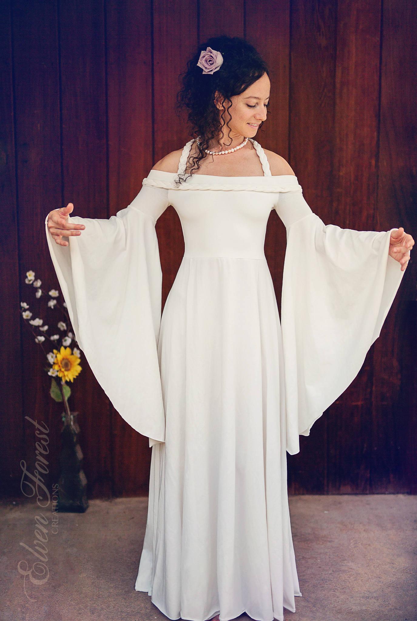 Fairytale Wedding Dress ~ Elven Forest, Bride, Bohemian, Gypsy ...