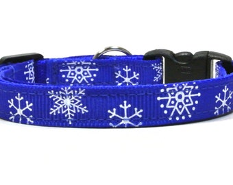 The Lake Effect Snowflake Breakaway Cat Collar