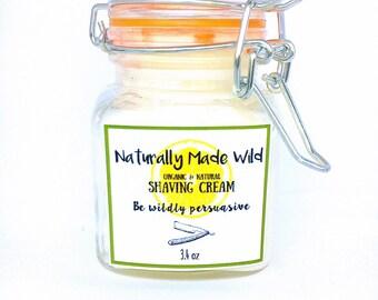 Natural Shaving Cream, Shaving Butter, Shaving Oil, Alcohol Free Shaving Cream, Hypoallergenic Shaving Cream, Soap Free, Vegan, Bikini Shave