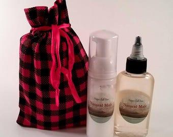 Pre-Shave Oil, After Shave, Natural Grooming Kit, Mens Spa Kit, Shave Kit, Gift for Him