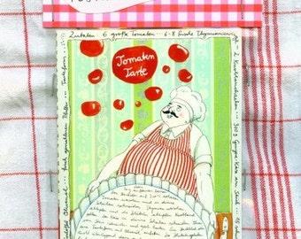 Recipe postcard set - 3 illustrated postcards