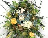 Yellow Flower Wreath, Rab...