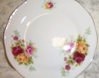"""China Royal Minister Bone China From England 6 1/2"""" Bisquit or Bread & Butter Plate #40"""