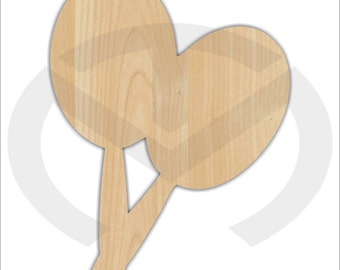 Unfinished Wood Maracas Laser Cutout, Wreath Accent, Door Hanger, Ready to Paint & Personalize, Various Sizes