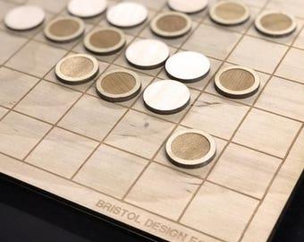 Minimal Reversi Board- Laser Cut Reversi Board