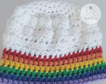 Rainbow, Rainbow Baby, Rainbow Hat, Lucky, Good Luck, lucky, Cloudy Rainbow