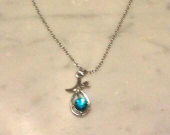 Lovely Blue Stone Necklace