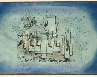 "Paul Klee : ""The Chair-Animal"" (1922) - Giclee Fine Art Print"