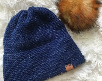 Adult Double Brim Beanie