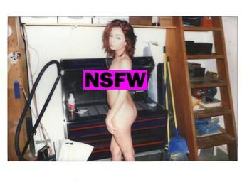 Ashlee Graham Signed Nude Polaroids