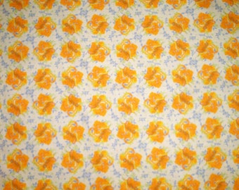 Printed design floral fabric