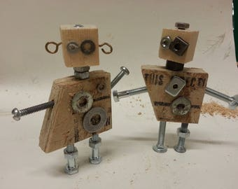 Rejected Robot Couple
