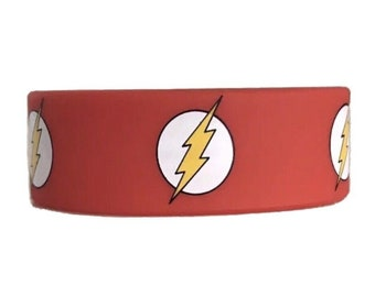 D.C. Comics Justice League The Flash Silicone Wristband Bracelet