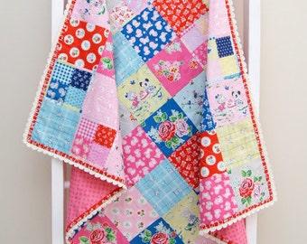 Crochet Trim Baby Blanket Pattern
