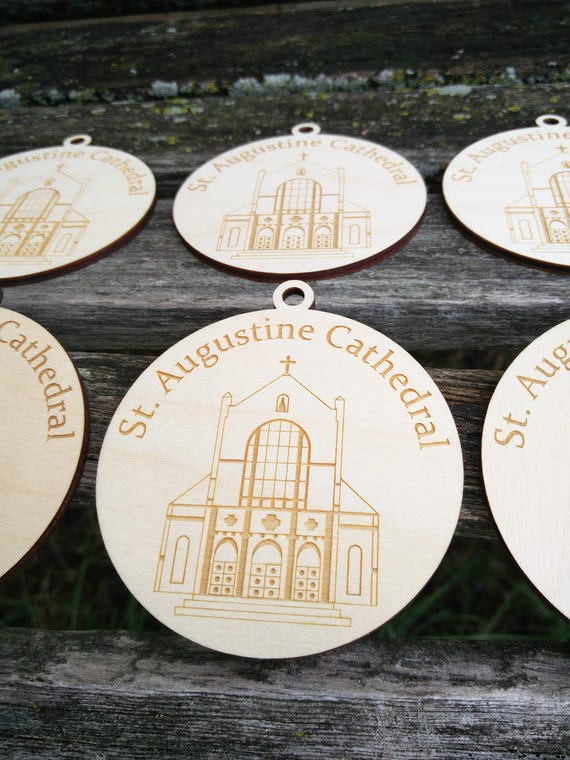 """Personalized Wood Ornament. Christmas, Holiday Gift. 1/8"""" Thick, Laser Cut. Custom Orders Welcome."""