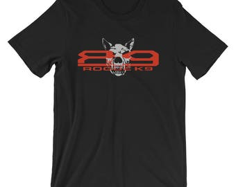 Rogue K9 Logo T-Shirt -  100% Ringspun Cotton and Sizes XS-2XL!