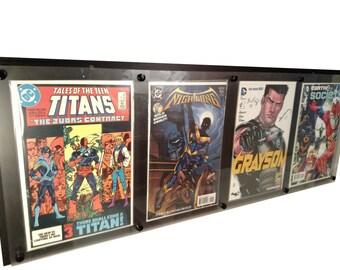 4 wide Comic Display