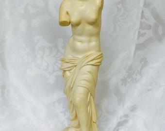 Antique Greek Goddess Statue