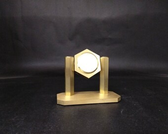 Selco LeCrest Brass Clock