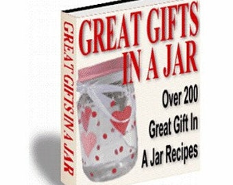 Gifts In A Jar - Great Recipes - eBook/PDF File