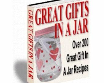Gifts In A Jar - Great Recipes - eBook/PDF File