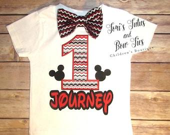 Mickey Mouse Birthday Shirt || Mickey 1st Birthday || Baby Mickey Mouse Shirt || Boys 1st Birthday Outfit || Mickey Mouse Birthday Outfit  |