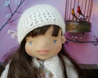 "Waldorf doll - 50 cm ""Otilie (Tilly)"" Waldorf inspired doll, Steiner doll, natural doll, felt sculpture, bio"