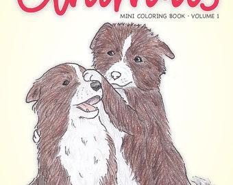 Happy Animals Mini Coloring Book