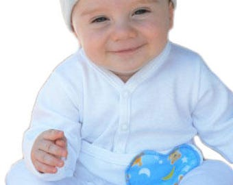 Boys Medical & G-Tube Accessible Long One-Piece For Preemies, Baby Boys And Toddlers/Special Needs Clothing