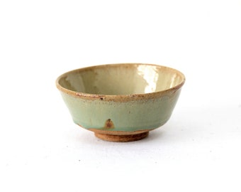 Antique chinese green Porcelain bowl Chinese antique bowl