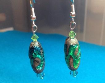 Stone Swirl Earrings