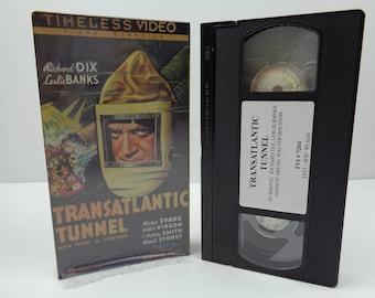 Transatlantic Tunnel VHS Tape