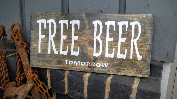 Man Cave Rustic Signs : Man cave sign pyrography art bar wooden beer custom