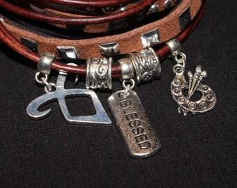 Shadowhunters / Clary inspired Bracelet