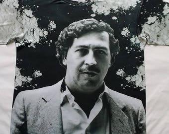 Pablo Escobar sublimation T shirt