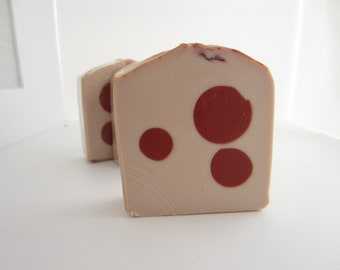 Cherry Almond Soap Handmade Cold Processed Soap Artisan Soap