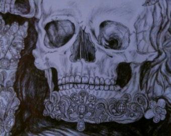 Print of pen sketch 5 x 7
