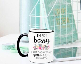 Boss Mug, Boss Gift, Boss Appreciation, Gift for Boss, Gift for Manager, Boss Babe, Boss Lady, Like a Boss, Funny Boss Gift, Funny Boss Mug