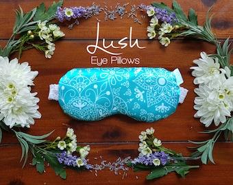 Mandala - Linseed and Lavender Eye Pillow