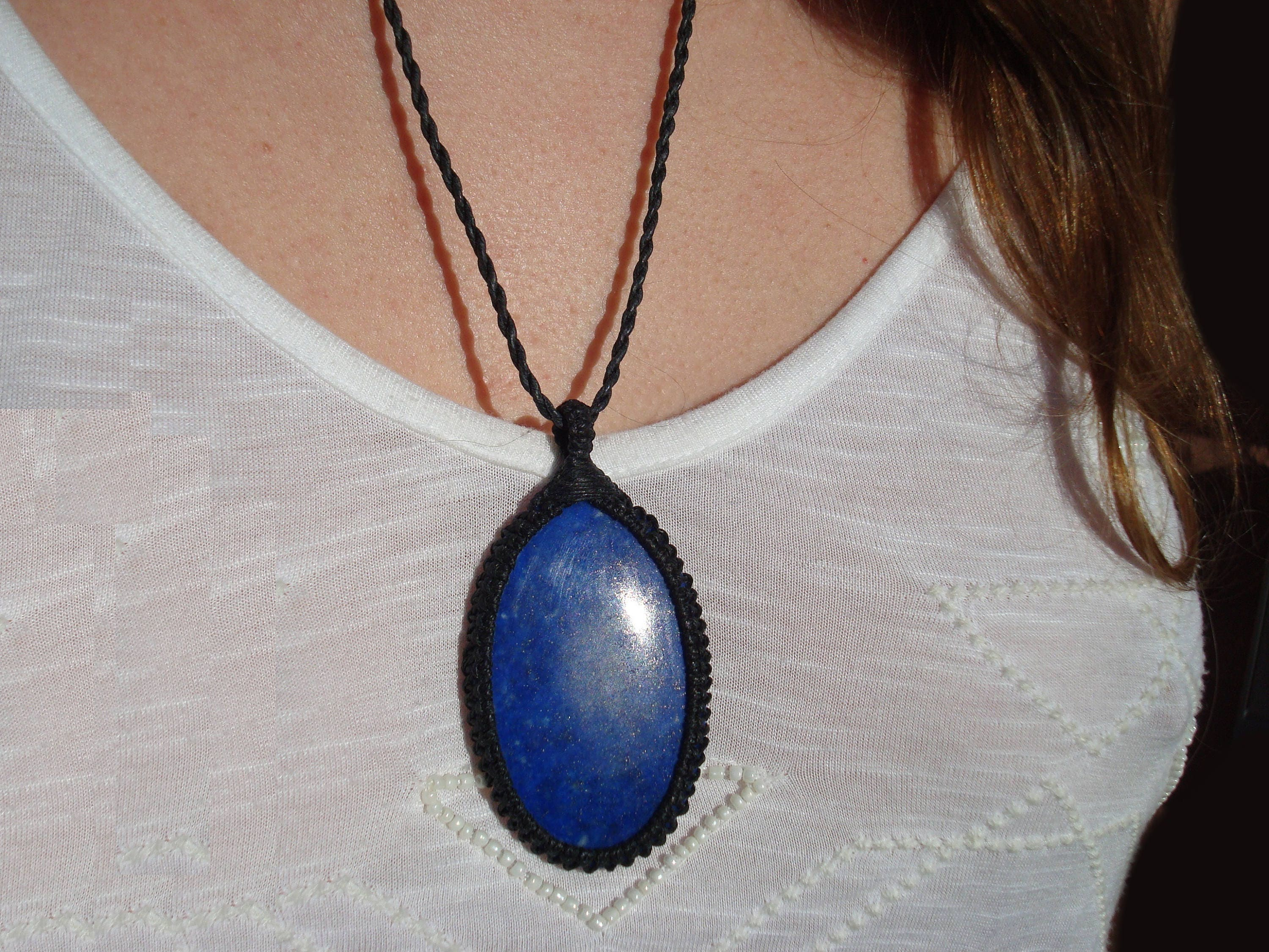 by operandi pendant large lapis moda ritratto lazuli blue necklace pomellato