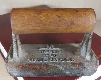 Vintage M Tools Concrete Trowel