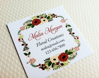 Personalized Business Cards - Set of 48