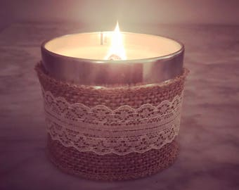 Lavender Field Woodenwick Scented candle