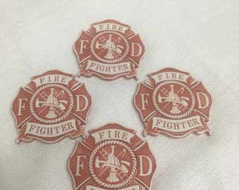 Fire department coasters