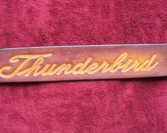 "1 1/2"" Thunderbird Belt"