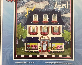 Holiday Houses Patterns - April