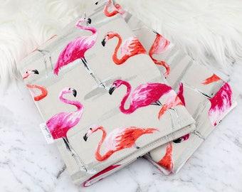 Baby Change Mat, Waterproof Change Mat, Flamingo Change Mat, Newborn Gift, Baby Shower, Baby Kick Mat, Baby Change Pad, Stylish Change Mat